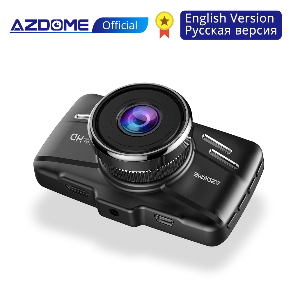 AZDOME M01 Dash Cam 3 Inch 2.5D IPS Screen Car DVR Recorder Full HD 1080P Car Video Recorder Dashcam Dash Camera Record