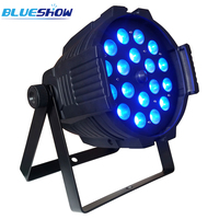 No tax custom by air, 8pcs/lot Zoom LED par light 18x10W RGBW 4in1 18x12W RGBWA 5in118x15w RGBWAUV 6in1
