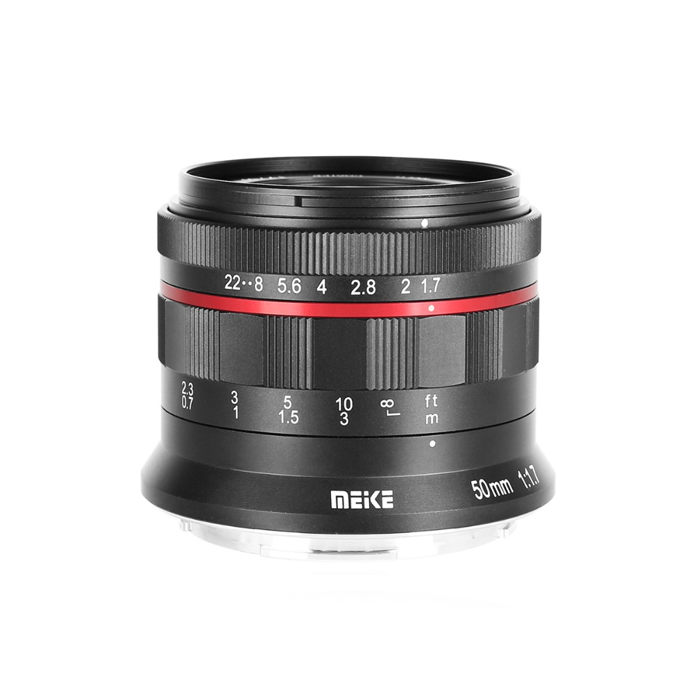 Meike MK-E-50-1.7 50mm f 1.7 Large Aperture Manual Focus lens Full frame For Sony E Mount A9 A7M3 A7R3 A7 III A7R III A7R2 A6500Meike MK-E-50-1.7 50mm f 1.7 Large Aperture Manual Focus lens Full frame For Sony E Mount A9 A7M3 A7R3 A7 III A7R III A7R2 A6500