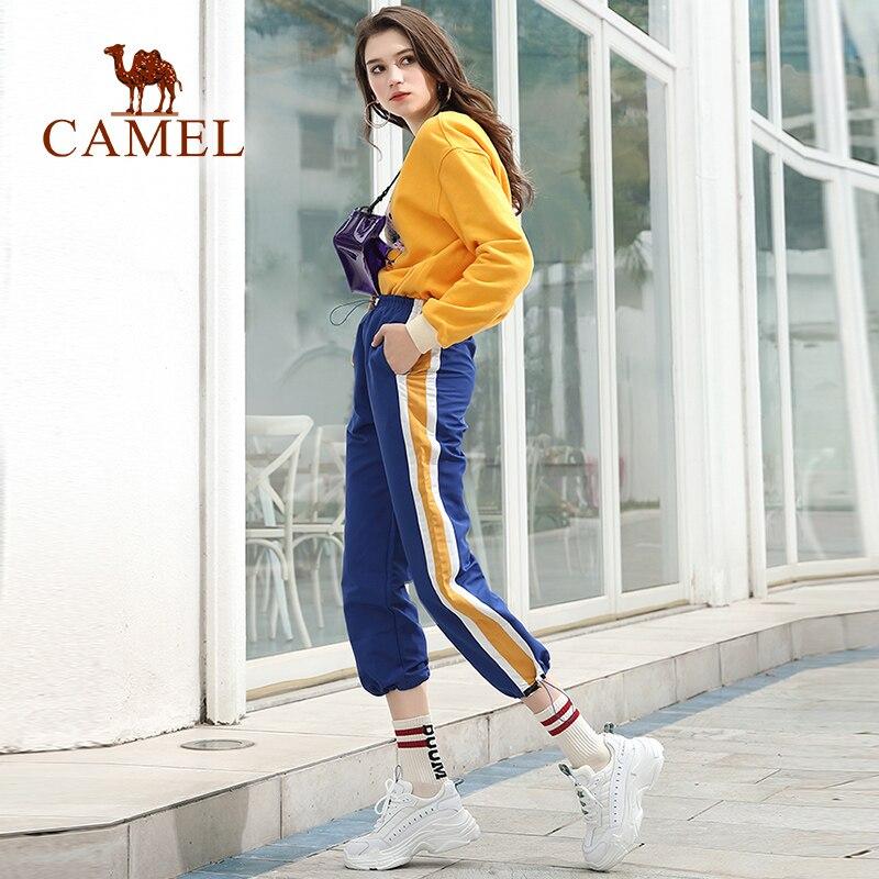 CAMEL mujer primavera nueva moda Casual zapatos mujer cuero alta plataforma Retro Ins zapatos para damas ocio tendencia estudiantes zapatos-in Zapatos vulcanizados de mujer from zapatos    3