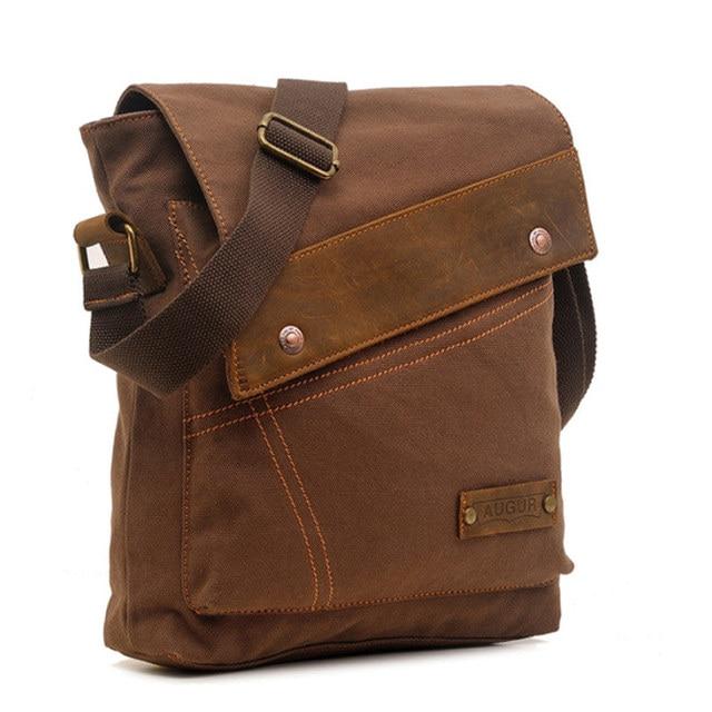 Men's messenger bag men Designer Handbag Canvas Casual Messenger Bag Students school bags