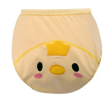 Sample 1Pcs Lovly 3D Animal Reusable Potty Toilet Training Pants Cloth Diaper Infant Cowards Shorts Underclothes Kids Panty(China)