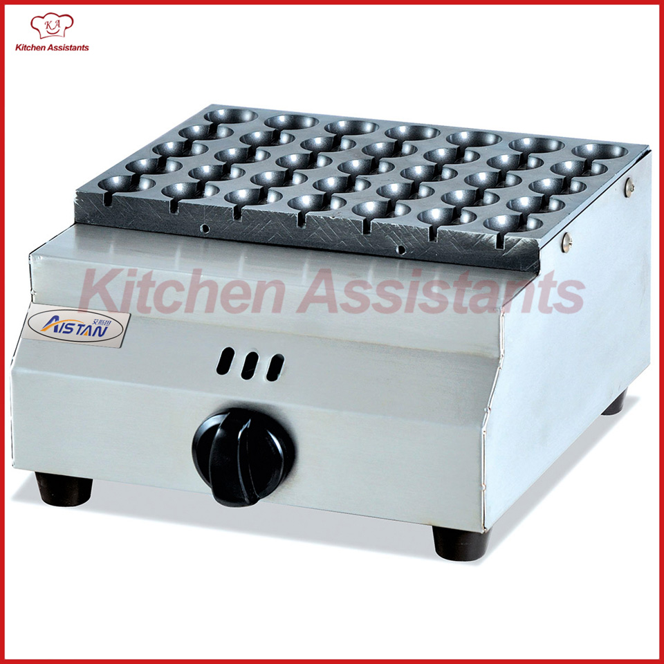 GH340 commercial gas desktop fish pellet grill machine