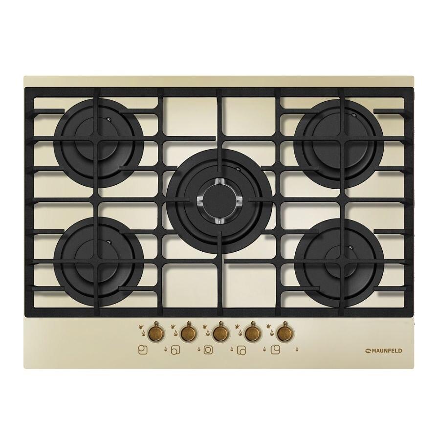 Cooking panel MAUNFELD MGHG 75 13 RILB Ivory