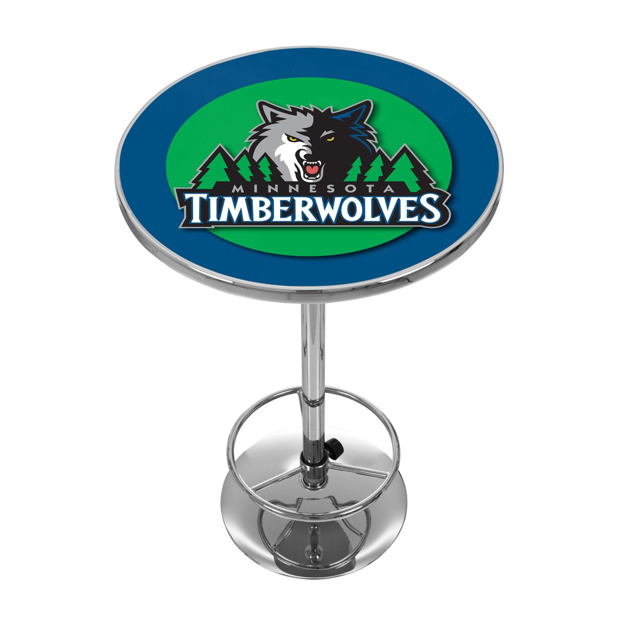 Minnesota Timberwolves NBA Chrome 42 Inch Pub Table ботинки meindl meindl minnesota pro женские