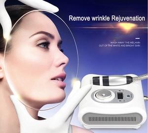 Image 1 - クールとホット electropration 凍結療法針送料メソセラピー機シュリンク毛穴締顔リフティングマシン
