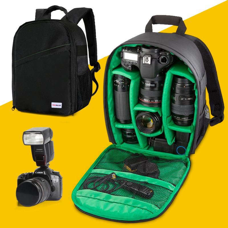 Digital Backpack Camera Correa Underwater Camara Fotografica Case For Canon 1300D Nikon D5300 D3100 D90 Sony Backpack Camera Bag