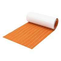 60CM X 200CM X 6mm Self Adhesive EVA 6mm Foam Floor Teak Sheet Boat RV Vehicle