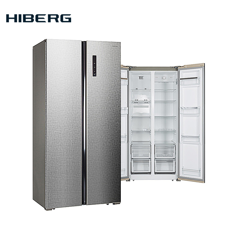 Refrigerator Side-by-Side  HIBERG RFS-480D NFXq цена 2017