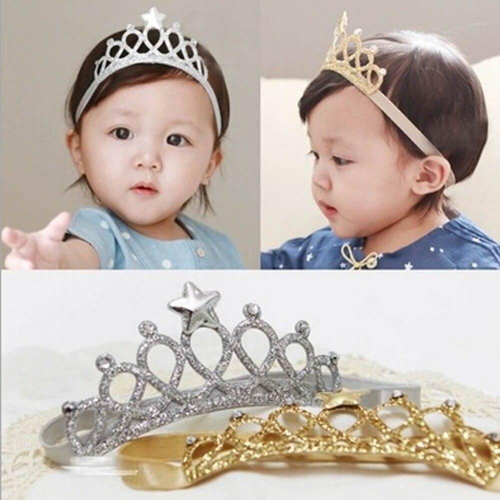 2017 Kids Baby Bebe Girl Children Crown Birthday Party Headband Hair Accessories Gift Hair Band Hair Bands Headbands