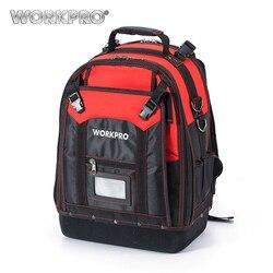 WORKPRO Neue Werkzeug Rucksack Tradesman Organizer Tasche Wasserdichte Werkzeug Taschen Multifunktions knapsack mit 37 Taschen W081065AE