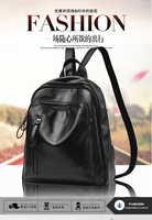 Hot2017 Fashion Women Backpack High Quality Female School Shoulder Bag Soft PU Leather Backpacks For Teenage
