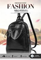 Hot2017 Fashion Women Backpack High Quality Female School Shoulder Bag Soft PU Leather Backpacks For Teenage