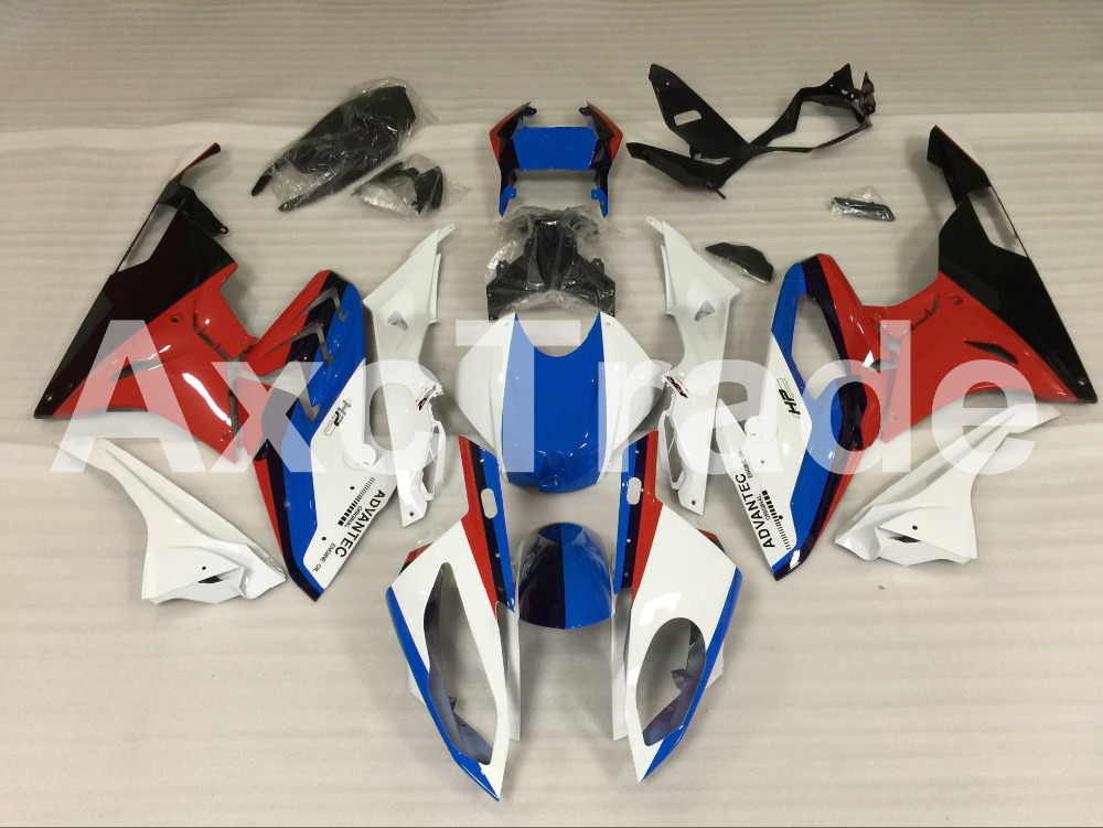 Motorcycle Fairings Kits For BMW S1000RR S1000 2015 2016 15 16 ABS Plastic Injection Fairing Bodywork Kit Red Blue Black A450 for bmw s1000rr fairing s1000 rr s 1000rr s1000 rr 2010 2013 red and white injection mold bodywork fairings kit