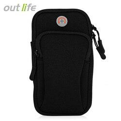 Outlife 범용 실행 팔 가방 실행 조깅 팔 패키지 파우치 가방 체육관 피트니스 전화 야외 가방
