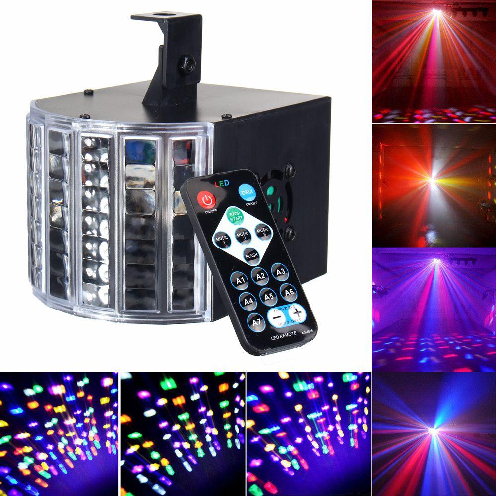 DMX512 Voice Remote Control LED RGB Stage Effect Lighting Night Lamp DJ Disco Bar Party Wedding Christmas Decor AU Plug remote rgb control waterproof 100% plastic led night light