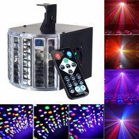 DMX512 Voice Remote Control LED RGB Stage Effect Lighting Night Lamp DJ Disco Bar Party Wedding