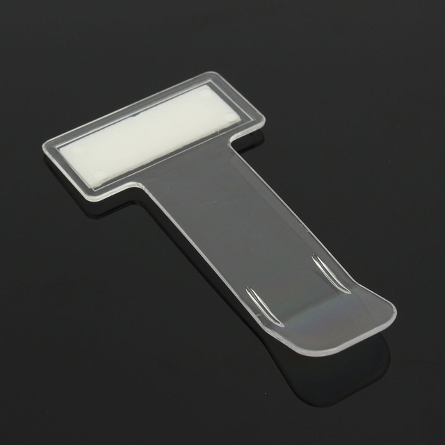 4pcs Car Vehicle Parking Ticket Permit Holder Clip Sticker Windscreen Window Fastener Stickers