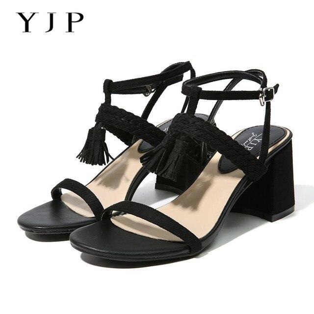 108a0672e YJP Women 5cm Mid Heels Sandals