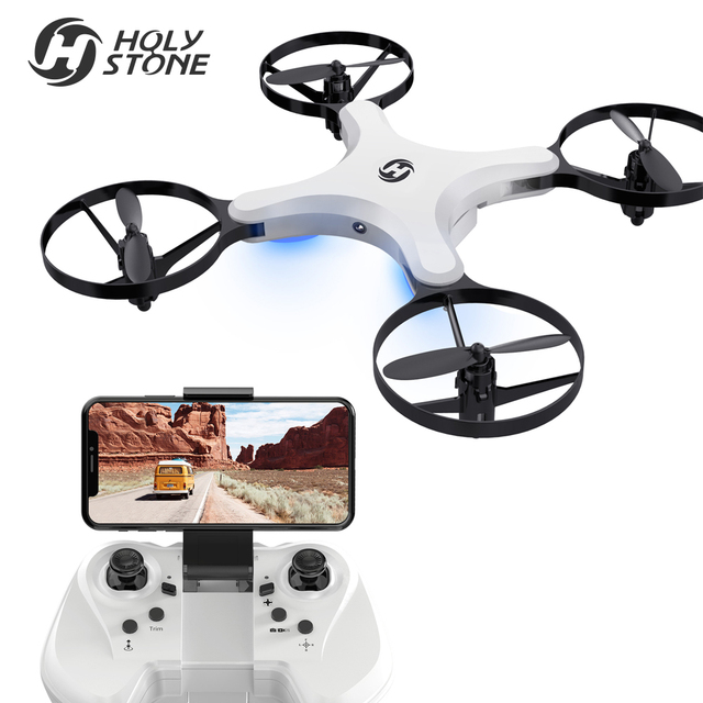 US Stock Holy Stone HS220 FPV 720P HD Wifi Camera RTF Touch Switch Modular Battery Smart Induction Foldable Two Modes Quadcopter