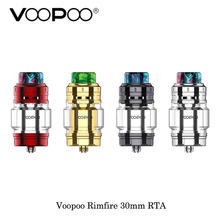 electronic cigarette Voopoo Rimfire 30mm RTA 5ML Capacity Single/Dual Coil Rebuildable 810 Resin Drip Tip Fit Voopoo Vmate Mod
