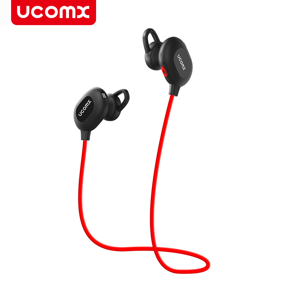 UCOMX G01S Bluetooth Earphone Wireless Stereo Sport Headphones Headset Hands-free Earpiece for Mobile Phone iPhone 6S 7 7plus 8 sport wireless headphones for philips phone bluetooth headset gym for philips mobile phone running earphone free shipping