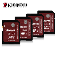 Kingston Camera Card SDHC SDXC Class 10 UHS I Card SD A3 32GB 64GB 128GB