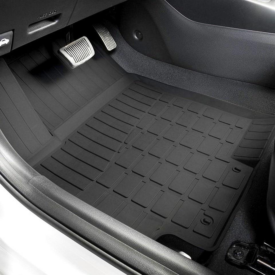 For Hyundai Solaris 2017-2019 rubber floor mats into saloon 5 pcs/set Rival 62305002 for hyundai solaris 2011 2016 rubber grid floor mats into saloon 5 pcs set seintex 83112