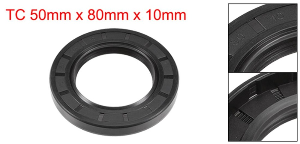 TC 35mm x 47mm x 7mm Nitrile Rubber Cover Double Lip Oil Seal