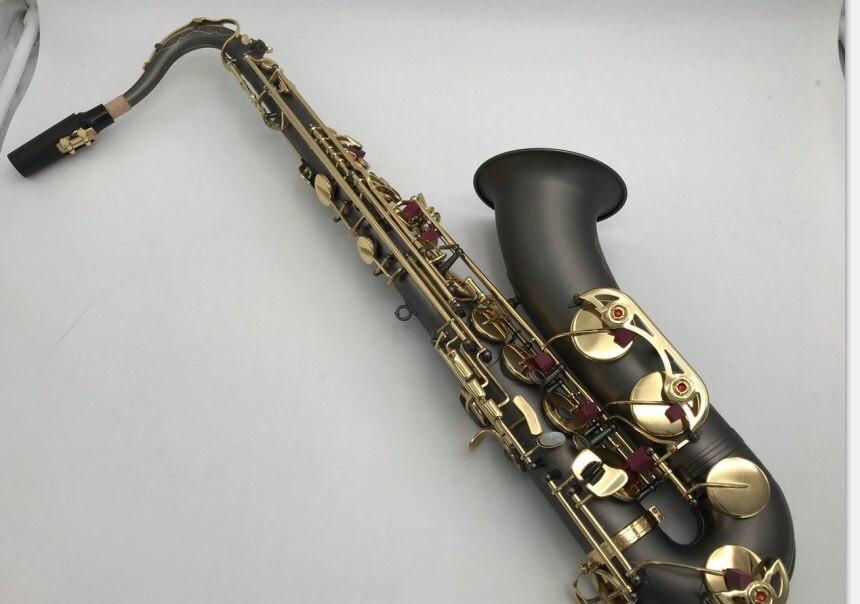 Nouveau Saxophone ténor de haute qualité STS-54 B ténor plat noir jouant des instruments de musique performance professionnelle livraison gratuite