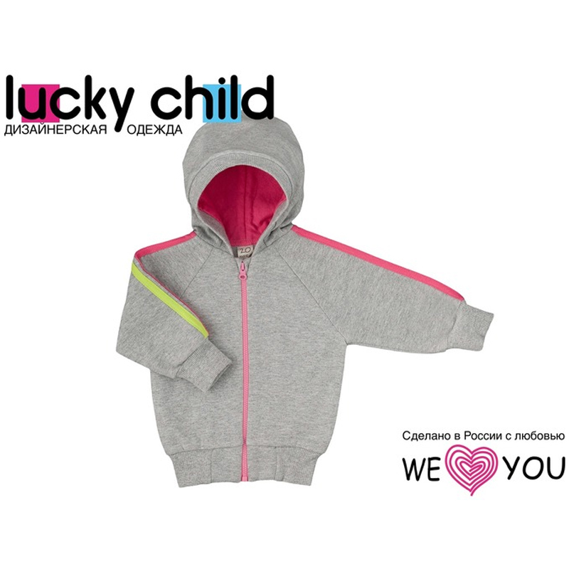 Child's Sweatshirt Lucky Child feather print sweatshirt