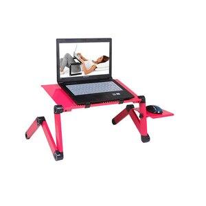Image 3 - محمول كمبيوتر محمول قوائم مكتب ل أريكة تتحول لسرير محمول طاولة قابلة للطي دفتر مكتب مع لوحة الماوس لمكتب Meuble
