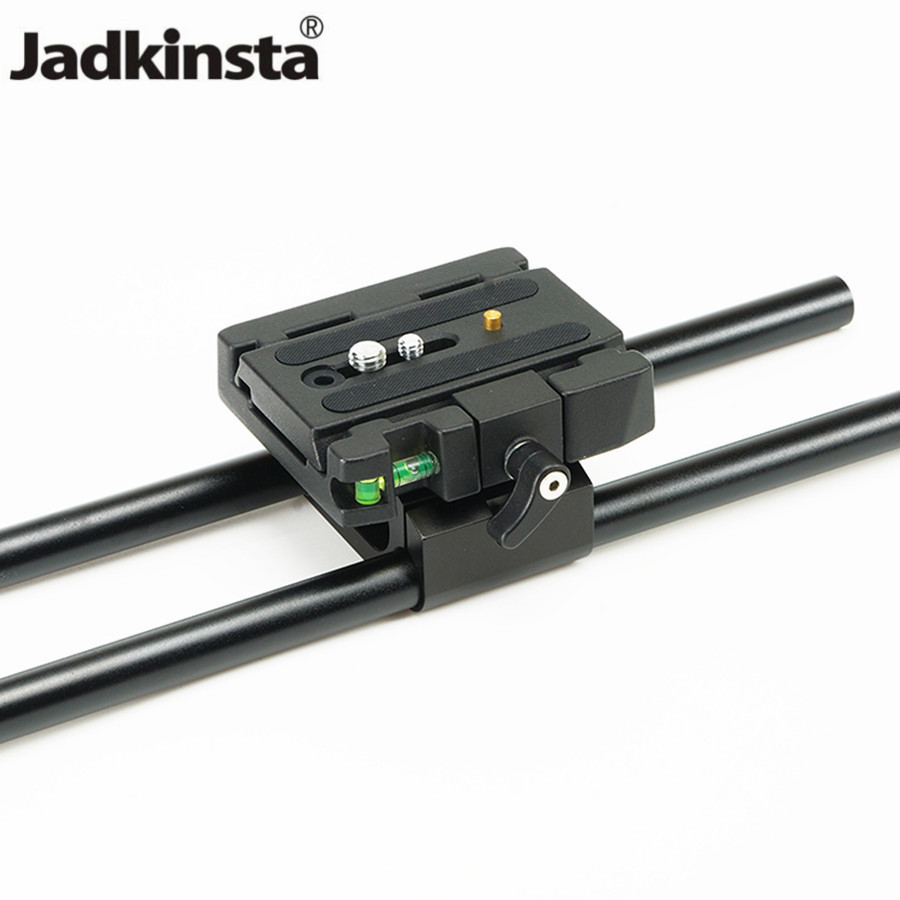 Jadkinsta Photography Base Holder Mount 15mm Tripod Head Bracket Clamp Compatible for Manfrotto Quick Release Plate