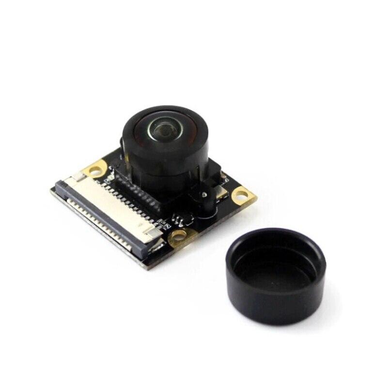 Shenzhen magasin Raspberry Pi Module de caméra objectif Fisheye 200 degrés champ de vision plus large distance focale réglable 5 méga Pixels