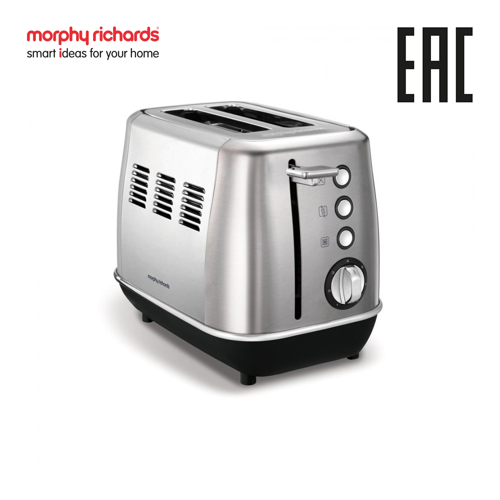 лучшая цена Toaster Morphy Richards Evoke Brushed 224406