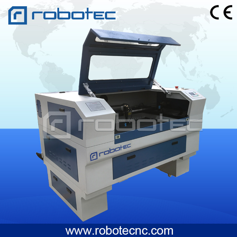 Robotec laser machine laser wood acrylic cutting engraving machine cnc co2 alibaba china supplier 2015 acrylic leather paper cloth 40w 50w 60w 80w 100w 120w 150w cnc 3d wood laser cutting