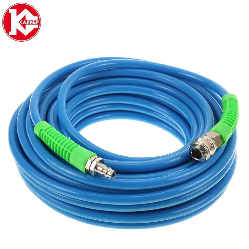 Kalibr-20 compressor hose Polyurethane Air Compressor Hose Tube Flexible Air Tool 1 2 air compressor oil lubricator moisture water trap filter regulator with mount
