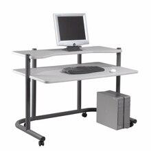 Studio Designs Home Office 48″Computer Workstation – Pewter/Grey