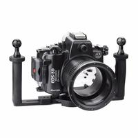 SeaFrogs Diving Waterproof Housing Case with Two Hands Aluminium Tray Grip for Canon 5D III IV 5D3 5D4