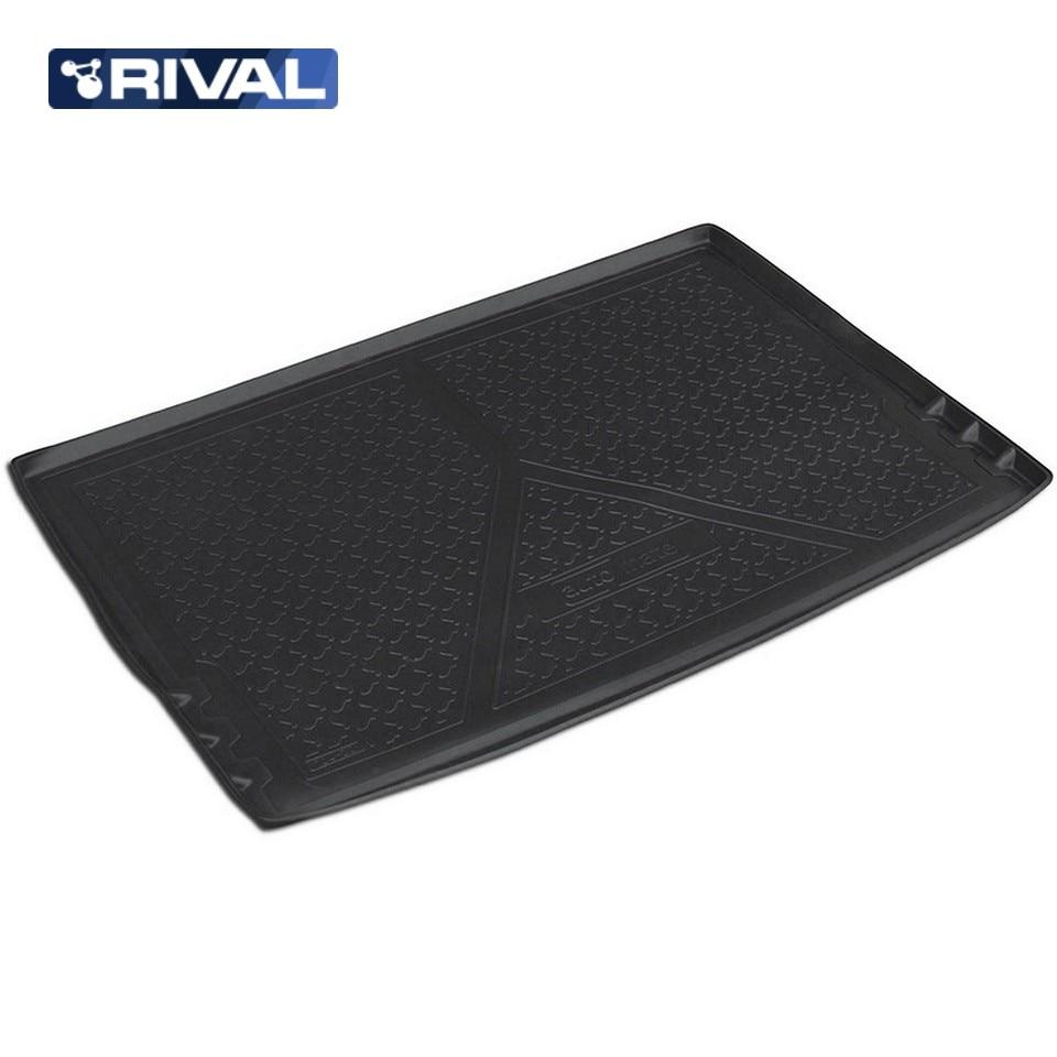 For Skoda Yeti 2009-2018 trunk mat Rival 15103002 недорго, оригинальная цена