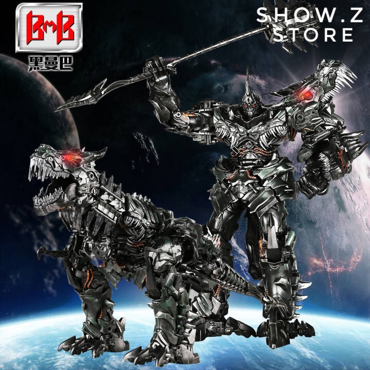 [Show.Z Store] Black Mamba LS-05 LS05 Grimlock Oversized SS07 Transformation Action Figure daminin video intercom 3 5 inch 2 0mp tft digital viewer with pir motion detection night vision