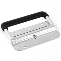 UXCELL Stainless Steel Spring Loaded Flush Mounted Trunk Case Toolbox Door Puller Chest Handle Grip Handgrip