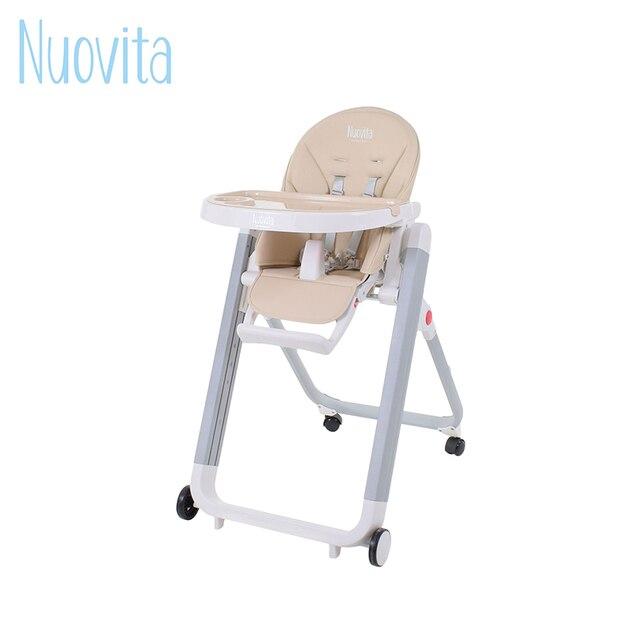 Стульчик для кормления Nuovita Futuro Senso Bianco