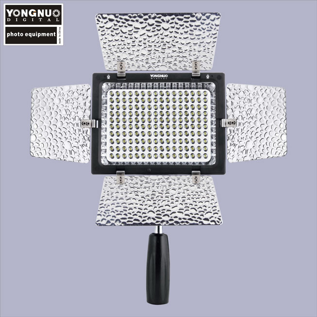 YONGNUO YN-160 II LED Light for Cameras Camcorders LED Phone Photo Studio Video Light Annular Lamp With DSR DSLR Camera Light стоимость