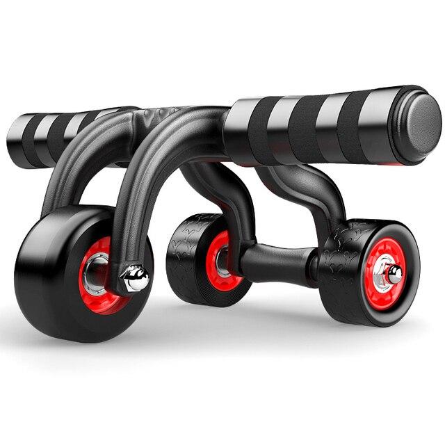 c5e8f2348f JAYSON Three Abdominal wheel Ab Coaster Home Sports Fitness Equipment Waist  Gym Exercise Training Wheel Body Strength