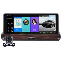 3G Mirror Rearview Car DVR Camera DVRs Android 5.0 With GPS Navigation Automobile Video Recorder Dash Cam