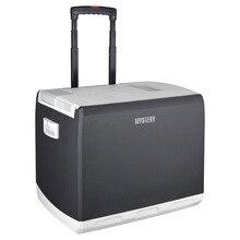 Холодильник автомобильный MYSTERY MTC-451 (Напряжение питания 12В/220В, объем 45 л, макс.мощность 55 Вт, охлаждение на 14-18°С ниже окружающей среды, нагрев до +60°С)