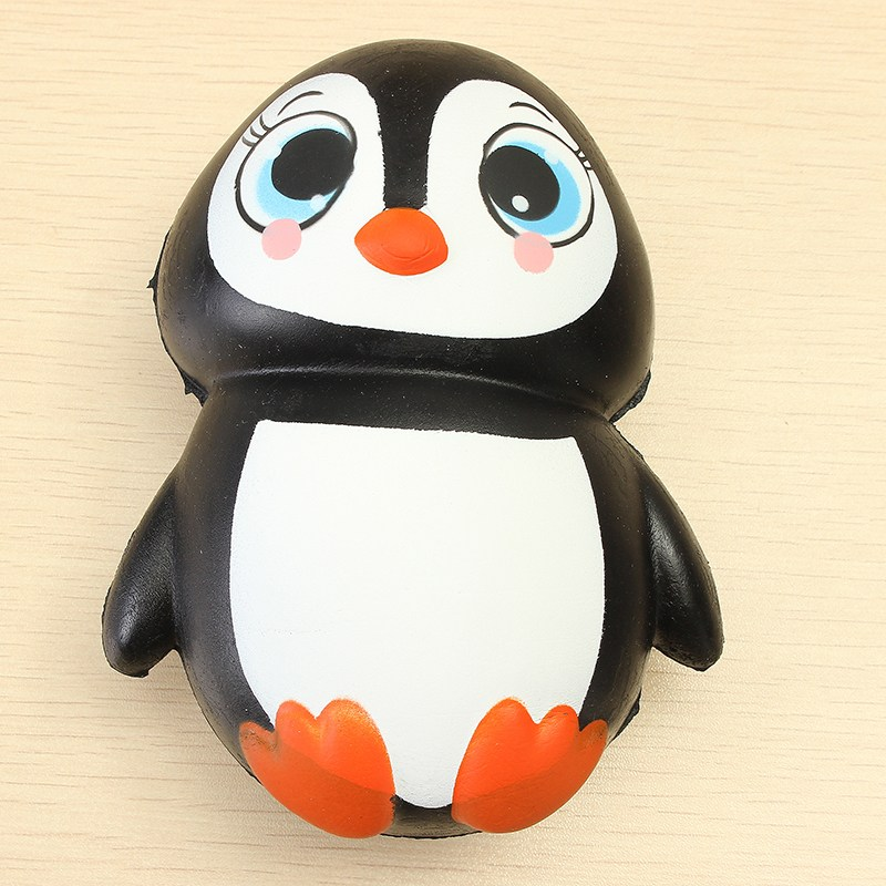 S quishy Penguin Jumbo 13cm Slow Rising Soft Kawaii Cute Collection Gift Decor Toy