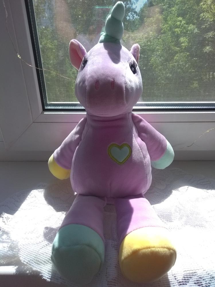 Plush Stuffed Rainbow Unicorn Toy photo review