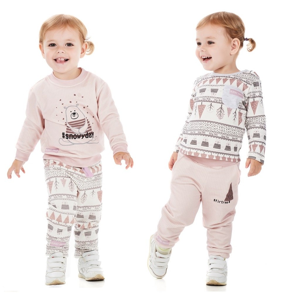Pants & Capris Lucky Child for girls 62-11f 62-14f winter holidays Leggings Hot Children clothes
